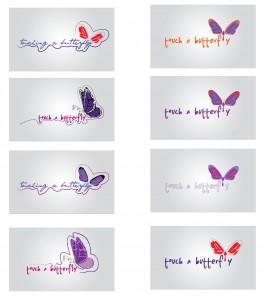 Purple Heart Foundation logo samples
